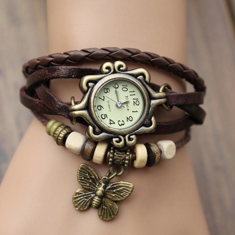 Браслеты часы своими руками фото